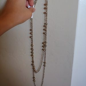 Banana Republic beaded necklace and braclet